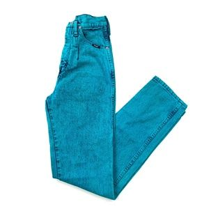 80s Wrangler Western Acid Wash High Waist Jeans